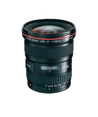 Širokoúhlý objektiv Canon 17-40mm